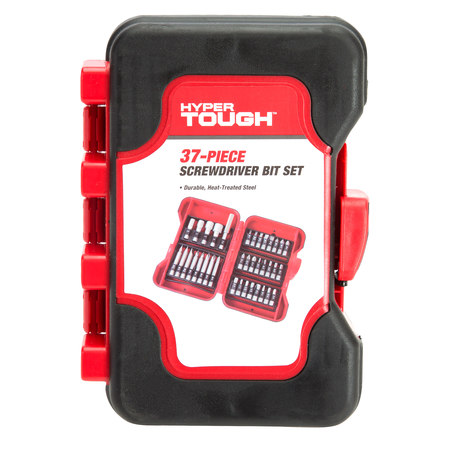 Hyper Tough 37 Piece Screwdriver Bit Set