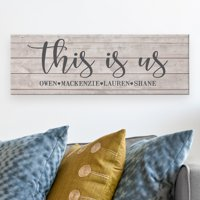 Personalized This Is Us Canvas