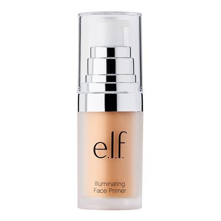 Glow In The Dark Face (e.l.f. Mineral Infused Face Primer, Radiant)