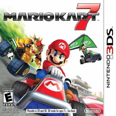 Mario Kart 7, Nintendo, Nintendo 3DS, 045496741747 - Mario Halloween Game