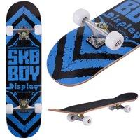 41285a09c9 Product Image Costway 31   x 8   Professional Skateboard Longboard Complete  Trucks Maple ...