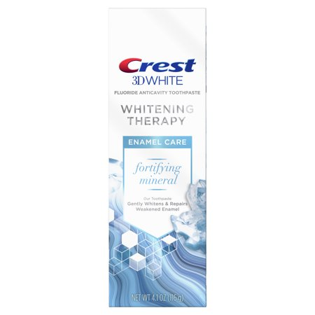 Crest 3D White Whitening Therapy Enamel Care Fluoride Toothpaste, 4.1 (Crest Whitening Fluoride Anticavity Toothpaste)