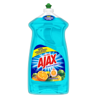 Ajax Ultra Triple Action Liquid Dish Soap, Bleach Alternative Citrus Berry Splash - 52 fluid ounce