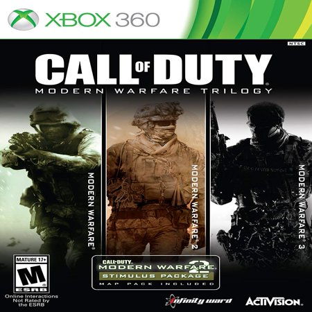 Call of Duty: Modern Warfare Trilogy [3 Discs], Activision, Xbox 360, (Call Of Duty Modern Warfare Pegi Rating)