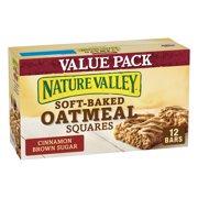 Nature Valley Oatmeal Squares Cinnamon Brown Sugar 12 Bars