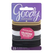 (2 Pack) Goody Ouchless No Metal Hair Elastics 95b9a7649f2