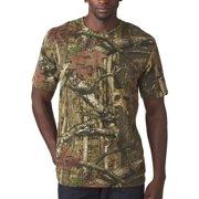 14b7fc95296044 Mossy Oak Camouflage Short Sleeve T-Shirt
