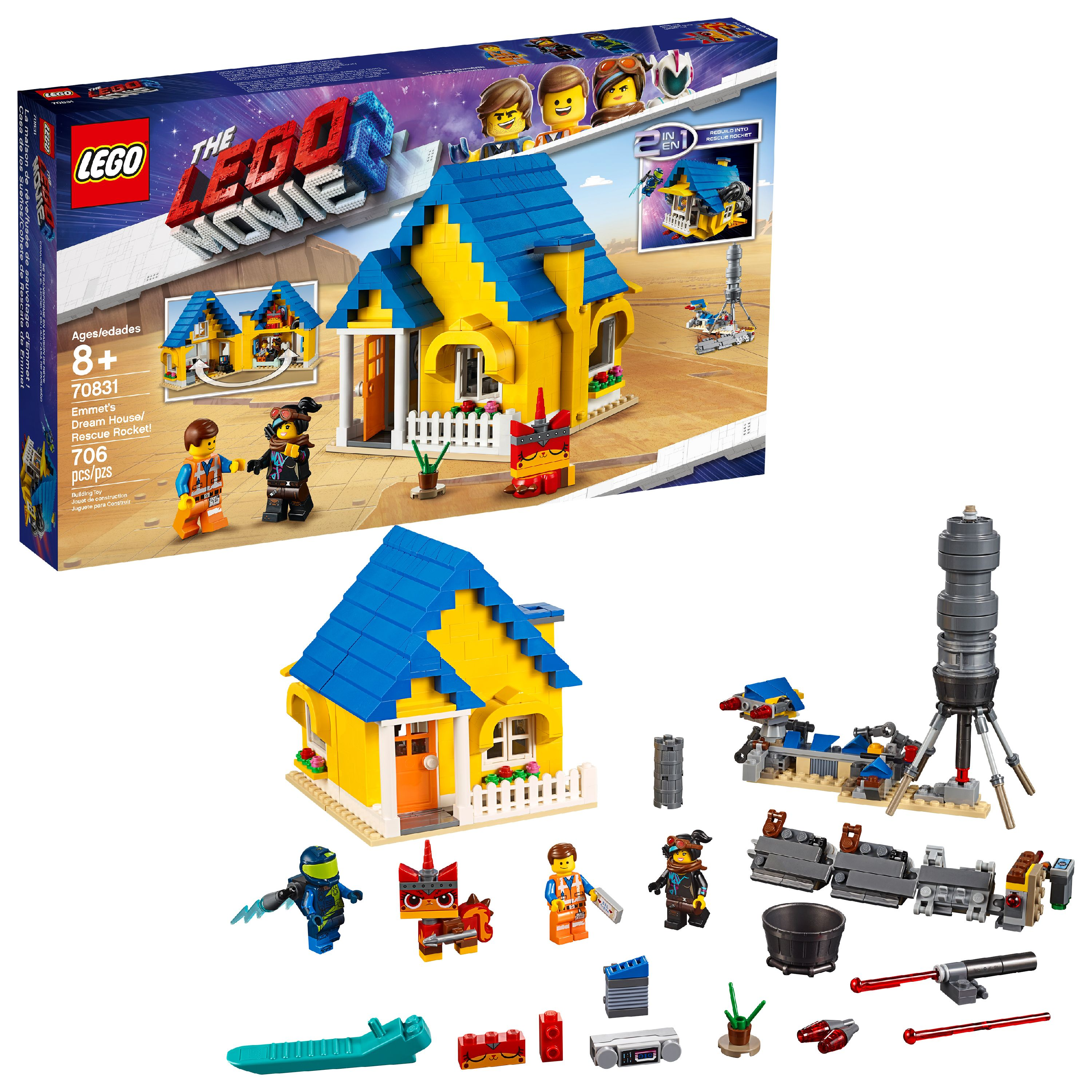 $42 (reg $70) LEGO Movie Emmet...