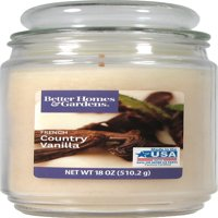 Better Homes & Gardens 18 oz Candle, French Country Vanilla