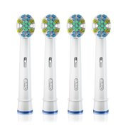 Oral-B FlossAction Replacement Electric Toothbrush Head, 4 Count