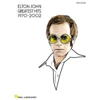 Elton John: Greatest Hits 1970-2002: Easy Guitar (Paperback)