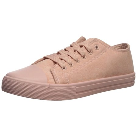 - Qupid Womens Narnia Fabric Low Top Lace Up Fashion Sneakers