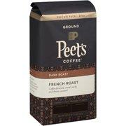 Peet's Coffee French Dark Roast Ground Coffee, 20 oz