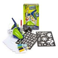 Crayola Air Marker Sprayer: Turn Markers Into Airbrush Paint Art