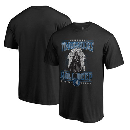 Minnesota Timberwolves Fanatics Branded Star Wars Roll Deep with the Empire T-Shirt - Black