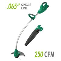 Weed Eater 20-Volt Cordless Interchangeable Combo, 2 tools in 1 (includes 2.5Ah battery)