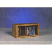 Wood Shed 100 Series 28 CD Multimedia Tabletop Storage Rack