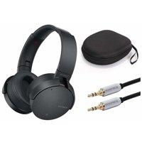Sony XB950N1 Extra Bass Wireless Noise Canceling Headphones (Black) Bundle