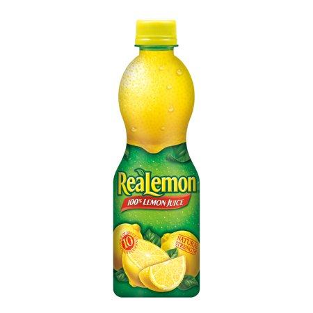 ReaLemon 100% Lemon Juice, 15 Fl Oz Bottle, 1 -