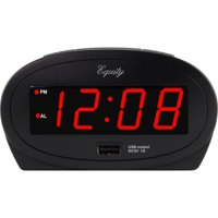 Equity By La Crosse 0.9 Inch LED Alarm with USB