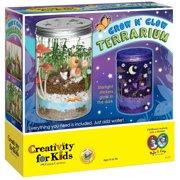 0a64399e Creativity for Kids Grow N' Glow Terrarium Kit