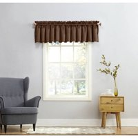 Sun Zero Kylee Rod Pocket Room Darkening Curtain Valance