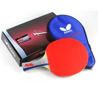 Butterfly 401 Table Tennis Racket Set - 1 Ping Pong Paddle – 1 Ping Pong Paddle Case - Gift Box - ITTF Approved