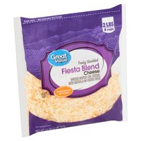 Great Value Finely Shredded Fiesta Blend Cheese, 32 oz