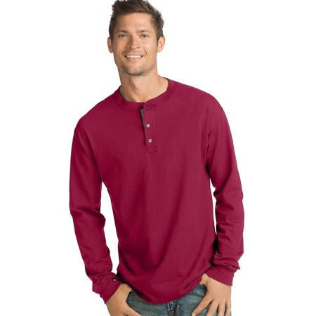 Men's Premium Beefy-T Long Sleeve T-Shirt, up to 3xl Blend Long Sleeve Tee