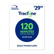 TracFone $29.99 Basic Phone 120 Minutes Plan (Email Delivery)
