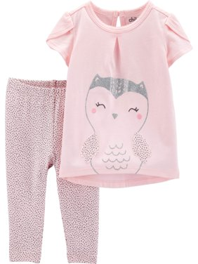 Tank Top and Pants Outfit Set, 2 pc set (Toddler Girls)