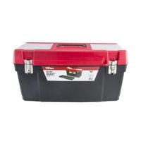 Hyper Tough HYST25901 25in Toolbox with Metal Latches