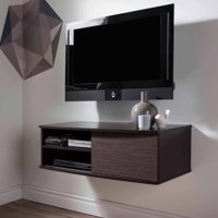 """South Shore Agora Wall-Mounted TV Stand for TVs up to 38"""", Multiple Finishes"""