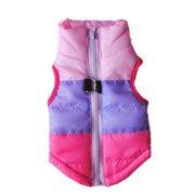e0ed5d20b Small Pet Cat Dog Clothes Winter Warm Padded Coat Jacket Vest Harness  Apparel