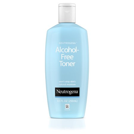 Neutrogena Alcohol-Free Facial Toner, Hypoallergenic, 8.5 fl. (Best Facial Toner For Acne Prone Skin)