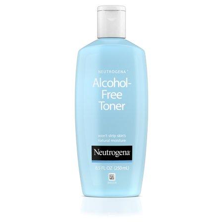 Neutrogena Alcohol-Free Facial Toner, Hypoallergenic, 8.5 fl. (Murad Hydrating Toner : Toners)