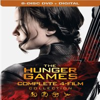 The Hunger Games: Complete 4-Film Collection (DVD + Digital)