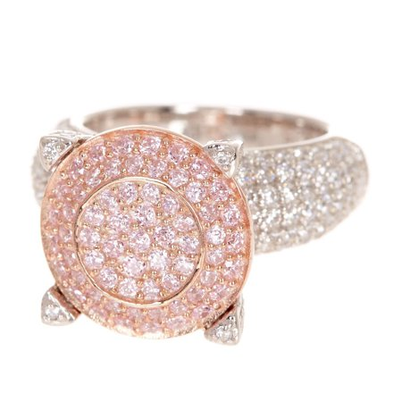 Suzy Levian Sterling Silver Pave Cubic Zirconia Ring David Yurman Pave Ring
