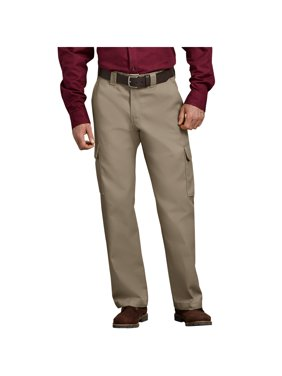 Big Men's Relaxed Fit Straight Leg Cargo Work Pants