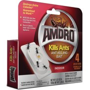 Amdro Ant Killing Bait Stations, For Indoor Use, 4 Pack