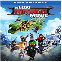 The Lego Ninjago Movie (Blu-ray + DVD + Digital)