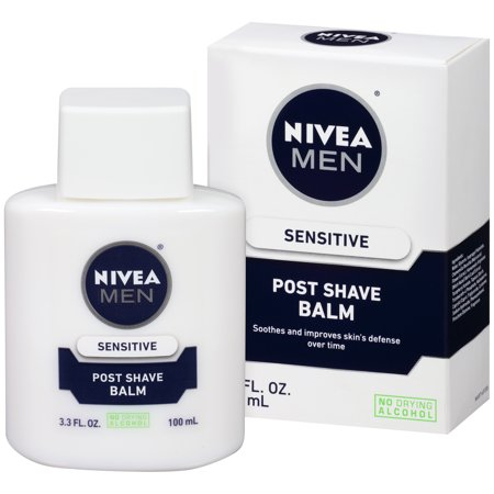 NIVEA Men Sensitive Post Shave Balm 3.3 fl. oz. (Best Sandalwood Aftershave Balm)
