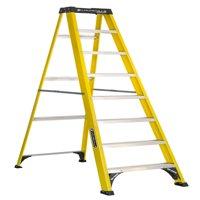 Louisville Ladder 8-foot Fiberglass Step Ladder, 250-pound Capacity, Type I, W-3118-08