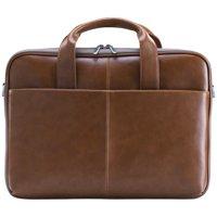 Blackweb Messenger Bag, Brown Vegan Leather