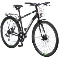 700C Schwinn Central Men's Commuter Bike, Black