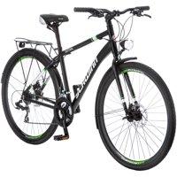 700C Schwinn Central Men's Commuter Bike, Black