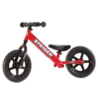 Strider - 12 Sport Balance Bike, Ages 18 Months to 5 Years - Red