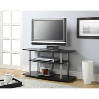Convenience Concepts Designs2Go No Tools 3 Tier Wide TV Stand, Espresso, Multiple Colors