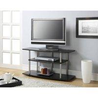 Convenience Concepts Designs2Go No Tools 3 Tier Wide TV Stand, Espresso, Multiple Colors