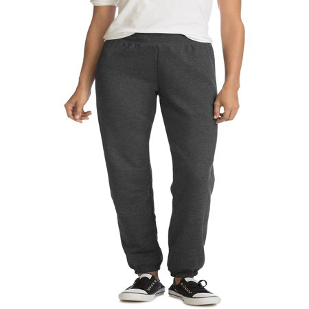 Fleece Lined Knit Pants (Hanes Women's Cinched Leg Fleece Sweatpant)
